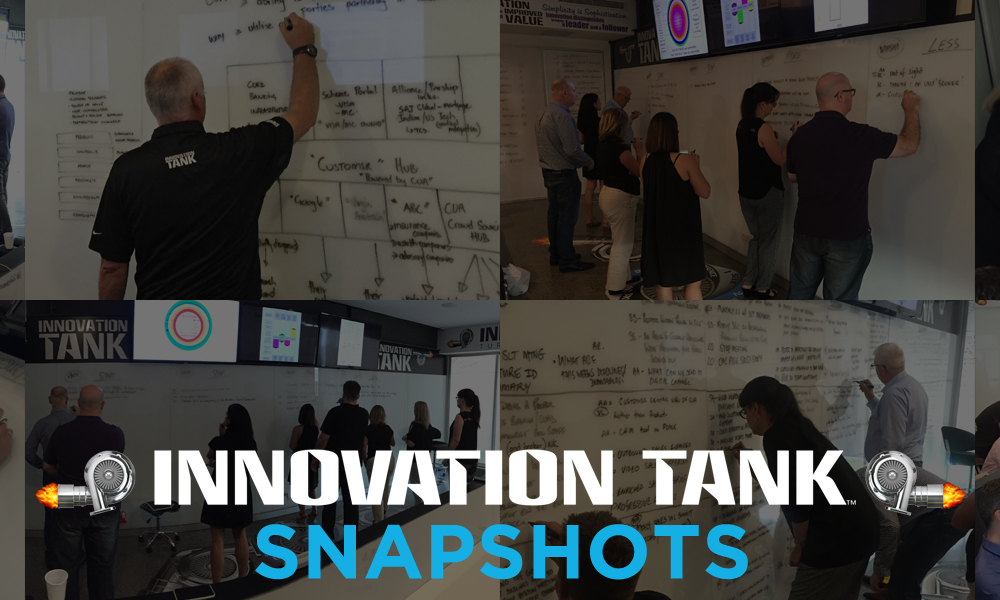 Innovation Tank Session Snapshots
